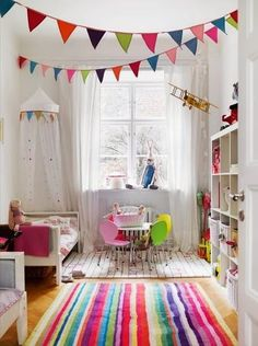 Kids Room Ideas for Kids Bedroom Design and Decoration - Colorful accents and sophisticated antique finds do have a place in your child's room – right next to their favorite toys. Playroom Design, Kids Room Design, Playroom Ideas, Nursery Ideas, Nursery Inspiration, Playroom Furniture, Playroom Decor, Boy Decor, Nursery Design