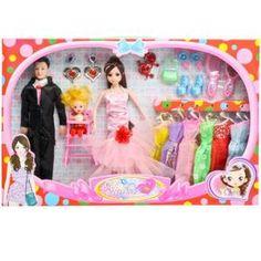 Poupée 2PC - Barbie - CFF7 - Poupée Mannequin - Princesse