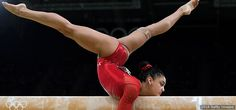 Laurie Hernandez competes in the balance beam final at the Rio 2016 Olympic Games at Rio Olympic Arena on Aug. 15, 2016 in Rio.