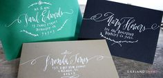 Lettering Styles | Nancy Hopkins Handlettering/ Garland style