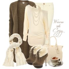 """""""Warm & Cozy"""" by reneelyn on Polyvore"""