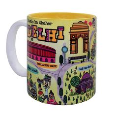 Espresso Or Cappuccino Given Out In Striking Coffee Mugs With Vibrant  Colour And Bright Cheerful Graphics Can Rejuvenate Your Senses No Time  While India ...