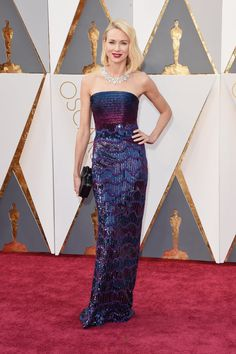 Naomi Watts at the 88th Academy Awards. Oscars Red Carpet Dresses 2016 | POPSUGAR Fashion