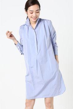 ◆ATEA OCEANIE SHIRT DRESS