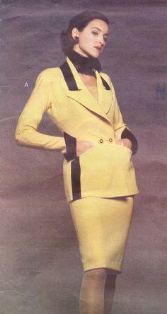 90s Karl Lagerfeld Vogue Paris Original Sewing by CloesCloset, $20.00
