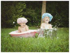 Munchkins » Christina Barnum Photography twin photography