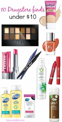 best new drugstore beauty products under $10