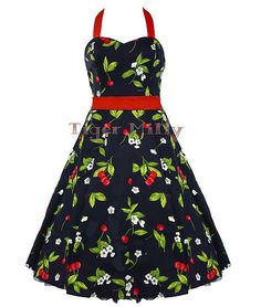 Love cherries love 50s dresses PERFECT