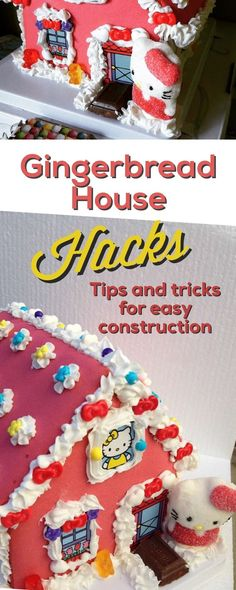 Tips and tricks for easy gingerbread house construction. Ideas, design and more!