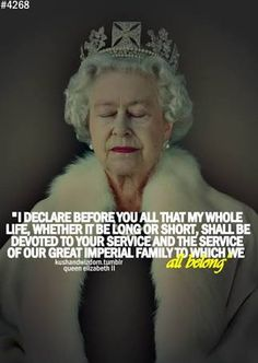 The Queen has had the same career for 65 years and she keeps going, true to her convictions and promise. An inspiring and early female leader and career woman