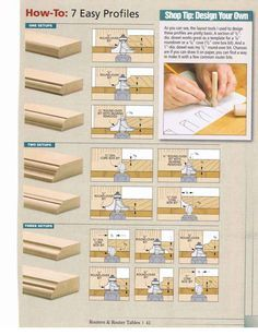 1000 Images About Workshop Router Bits And Profiles On