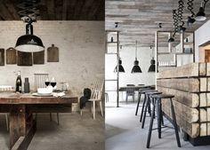 Restaurante londinense, diseño rustico