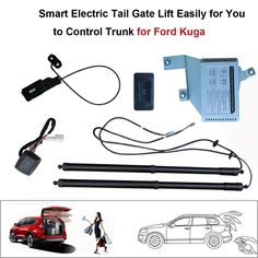 Smart Electric Tail Gate Lift Easily for You to Control Trunk Suit to Ford Kuga Remote Control With electric suction #Affiliate