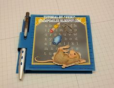 Stamp Smiles: Post-It Note Cover Tutorial