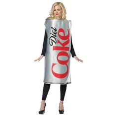 Diet Coca-Cola Can Halloween Costume for Women