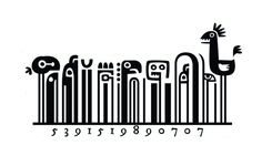 Barcode Art by Steve Simpson - http://abduzeedo.com/fun-barcodes-steve-simpson?utm_source=feedly_medium=feed_campaign=Feed%3A+abduzeedo+(Abduzeedo+Feed)