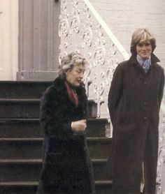 Diana newly engaged 1 March 1981