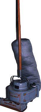Hoover vacuum cleaner, c. 1907.