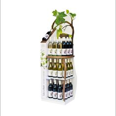 Popon | Image Gallery | Brown Brothers Take a Chair Wine Display