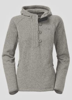 Comfy and Cozy north face crescent hooded sweater