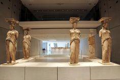 Μουσείο Ακρόπολης Greek Culture, Art Museum, Places Ive Been, Greece, Statue, Lava, Events, Interiors, Spaces