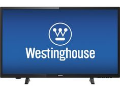 "Westinghouse - 32"" $117 @ store Colonial Class (31.5"" Diag.) - LED - 720p - HDTV - Black - Front Zoom"