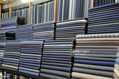 Stock Photo : Men's suit fabric, Gwangjang Market, Seoul