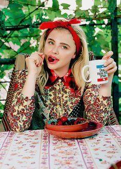 Chloe Moretz for Teen Vogue 2016.