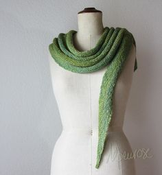 интересная идея для шали - запись пользователя ludasta (Людмила) в сообществе Вязание спицами в категории Вязание шали спицами