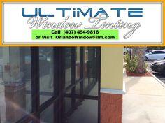 Graffiti protection window film - Orlando