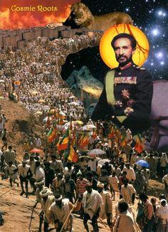 "Ethiopia: Haile Selassie I (Ge'ez: ኃይለ፡ ሥላሴ, ""Power of the Rastafari Art, Galaxy S8 Wallpaper, Ethiopian People, Ethiopian Beauty, Bob Marley Pictures, Tribal Warrior, Haile Selassie, African Royalty, Warrior King"