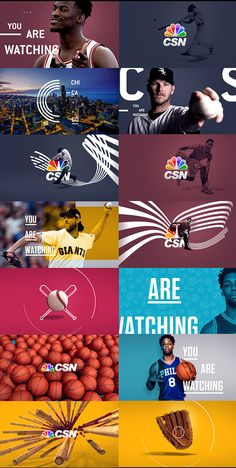 Some concepts studies for the 2016 CSN rebrand