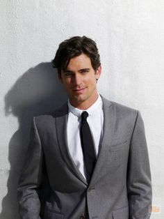 Matt Bomer. I don't care if he's gay. I can still gaze at this amazingly gorgeous man.