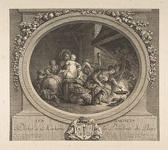 Les Beignets.  After Jean Honoré Fragonard  (French, Grasse 1732–1806 Paris).