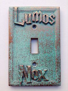 Lumos/Nox (Harry Potter) Light Switch Cover