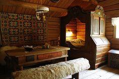 Skandináv szobabelső