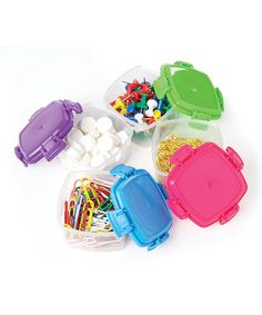 Another great find on #zulily! Small Knick Knack Pack Container Set #zulilyfinds
