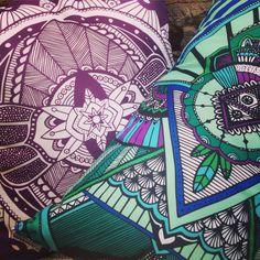 Www.guanabana.com.ar diseño deco interior pillow almohadones illustration ilustración