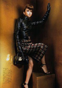 Namie x Vogue Japan x Gucci -  October 2013 Vogue Japan  Loving this look too NAMIE NEWS NETWORK © 2007-2013