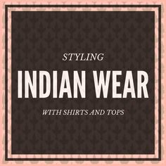 How to style traditional Indian clothing with a western shirt? We show you over 15 combinations of Indian ethnic wear using a shirt. Indian bride - read now Indian Ethnic Wear, Western Shirts, Indian Outfits, Indian Fashion, How To Wear, Style, Swag, India Fashion, Stylus