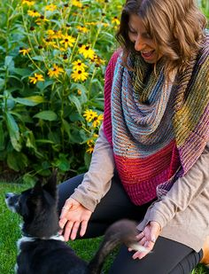 An asymmetrical triangular shawl, knit side to side, on the bias. Shawl Patterns, Knitted Shawls, Ravelry, Knit Crochet, Knitting, Coupon, October, Knits, Island
