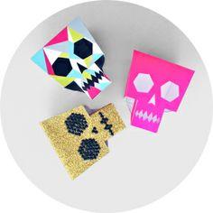 LornaLove skull printable/follow link to instructions