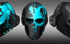 Skullcandy Releases Official Army of Two The Devil's Cartel Gaming Headsets Creepy Masks, Cool Masks, Airsoft, Army Of Two, Paintball Mask, Monster Mask, Superhero Cosplay, Military Gear, Masks Art