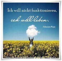 Ich will nicht funktionieren, ich will leben. - Johannes Raps -  https://www.youtube.com/watch?v=u5Vz7obL460 Tim Bendzko - Keine Maschine (Offizielles Video) ~ Quelle: GedankenGut https://www.facebook.com/Gaby.GedankenGut/  http://www.dreamies.de/mygalerie.php?g=jtdysguz