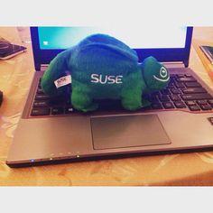 Maskot Suse - SUSE Expert Day #suse #linux #enterprise #maskot by wardi_lee