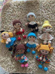 Amigurumi Patterns, Amigurumi Doll, Crochet Patterns, Knitted Dolls, Crochet Dolls, Free Crochet, Knit Crochet, Crochet Keychain Pattern, String Crafts