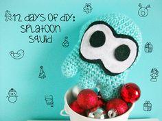 Splatoon Squid - free crochet pattern from MooeyAndFriends