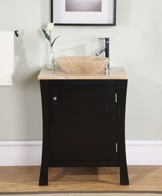 This vanity is a little more masculine :)
