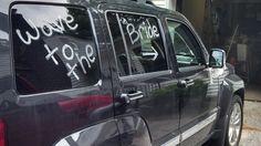 Bachlorette party car!