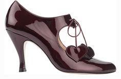 RAQUEL RUBY METALLIC - http://minnaparikka.com #MinnaParikka #ShoeDesigner